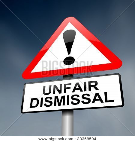 Unfair Dismissal Concept.