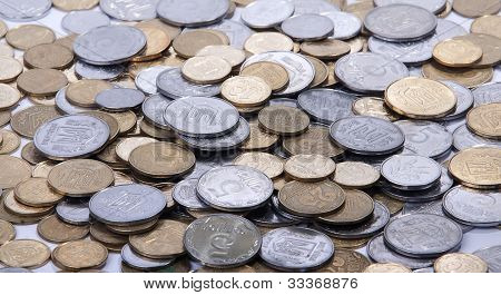 Silver And Bronze Coins