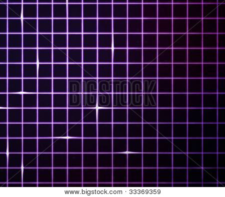 Violet Laser Light Grid Background