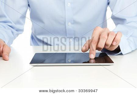 Using Digital Tablet