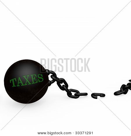 Ball And Chain - Taxes - Broken Free