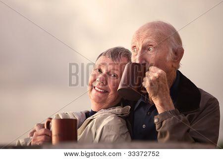 Adorable Senior Couple