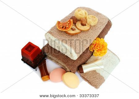 Towels And Spa Set