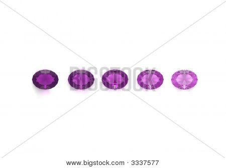 Amethyst Oval Form