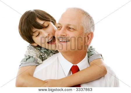 Father Son Affection