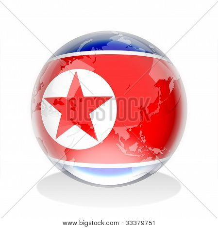 Crystal Sphere of North Korea