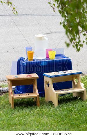 Deserted Lemonade Stand