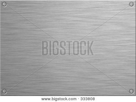 Gebürstete panel