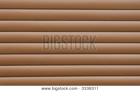 Brown Cedar Siding