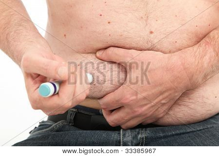Self Administering An Intramuscular Injection