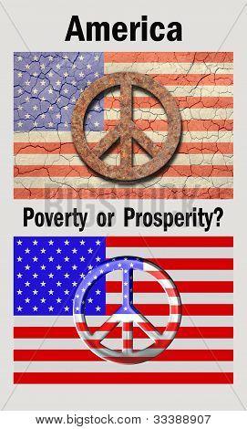America, Poverty or Prosperity
