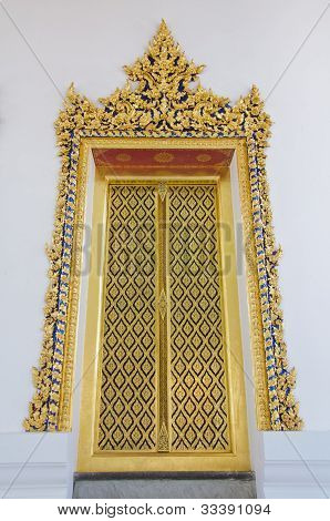 The Door Of The Temple