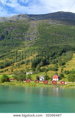 Noruega, Sogn de Fjordane