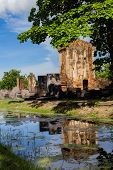 Chetuphon Temple - Sukhothai Ancient Temple Is Located Just Outside The City Wall In The South Of Th poster
