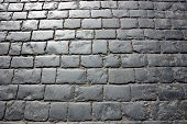 Paving Stones On The Red Square Of The City Of Moscow. The Road Surface Of The Main Square Of Russia poster