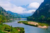 pic of ou  - Nong khiaw river - JPG