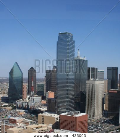 Downtown Dallas- Looking East