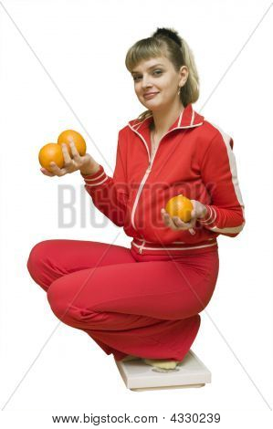 The Girl And An Orange Diet
