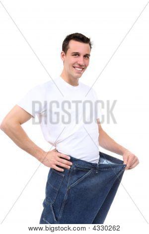 Mann Gewichtsverlust