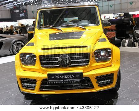Mercedes G63 G65 Amg Mansory Gronos
