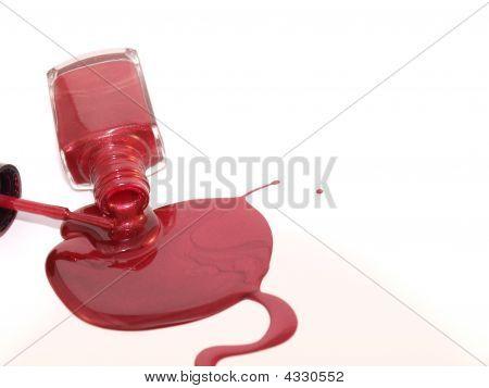 Spill Nail Polish