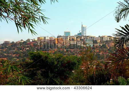 Downtown Kigali, Rwanda