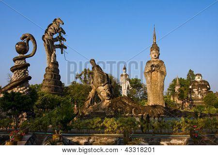 Sala Keoku in Nong Khai , Thailand