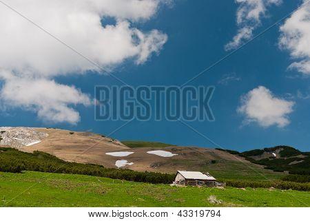 Landscape In Bucegi Mountains, Romania