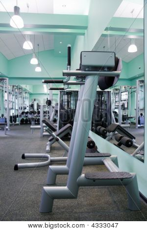 Room With Gym Equipment