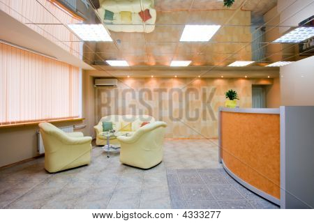 Interior Of Modern Reception Room