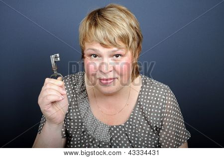 Woman With Key