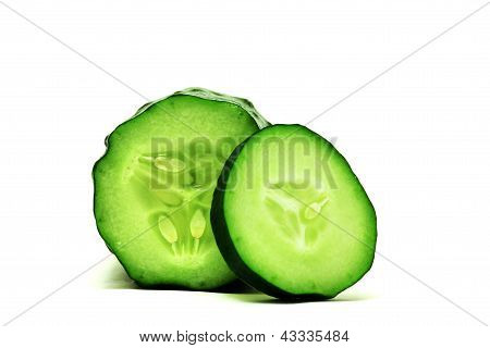 Cucumber and sliced