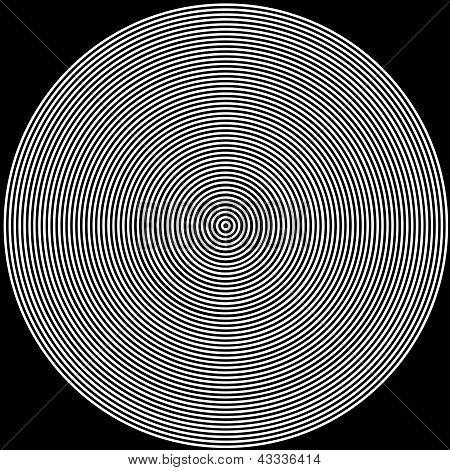 Schwarze und weiße Kreise Hintergrund