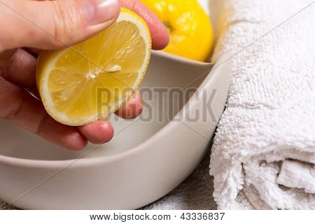 Pressed Lemon In Wellness