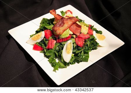 Healthy Summer Bacon Salad