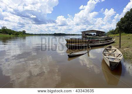 Río Amazonas barco pera