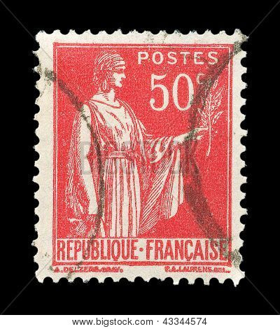 French Post Stamp
