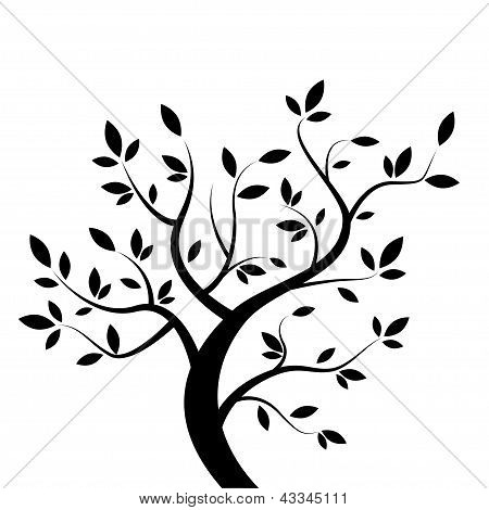 Vector black tree