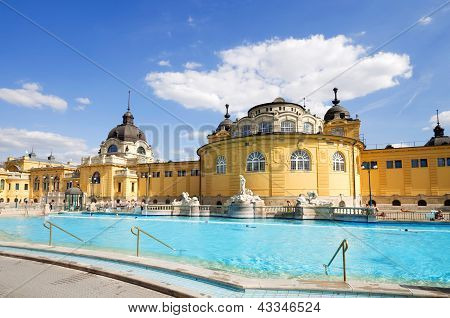 Budapest Szechenyi baño