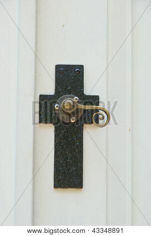 Cross Door Knob