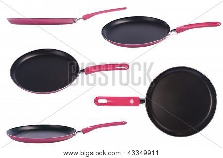 Pink Frying Pan