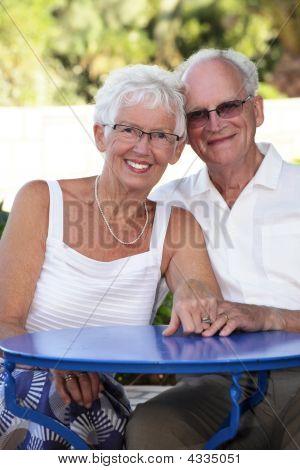 Radiant Senior Couple