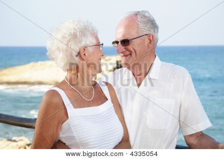 Senior Couple In Love
