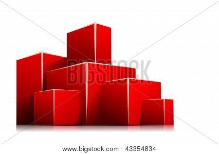 Caixa vermelha