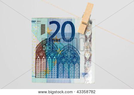 Bill 20 euros