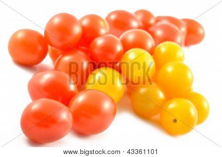 Multicolored Cherry Tomatoes