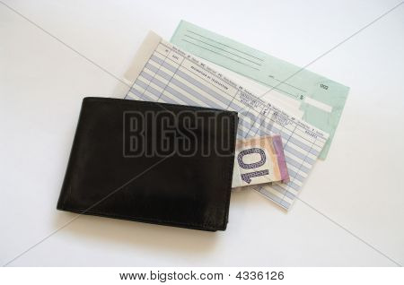 Wallet Cash And Account