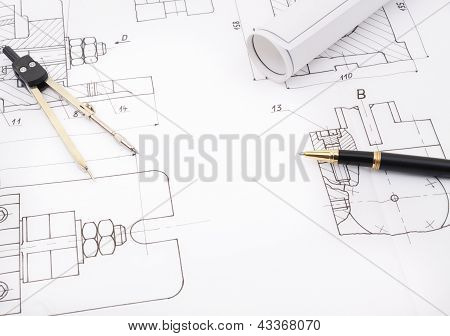 blueprint drawings