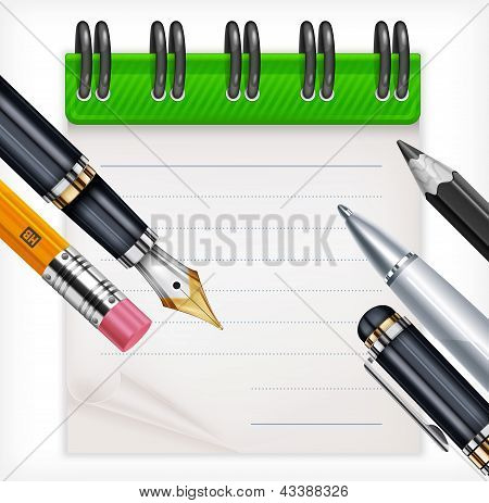 Notebook And Writing Tools