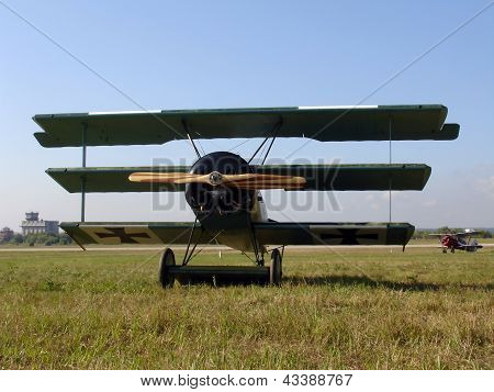 Historic Plane Fokker Dr.I
